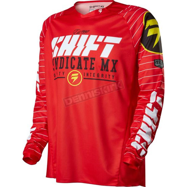 Shift Red Strike Jersey - 14532-003-S