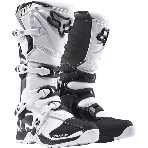 Fox White Comp 5 Boots - 16448-008-11