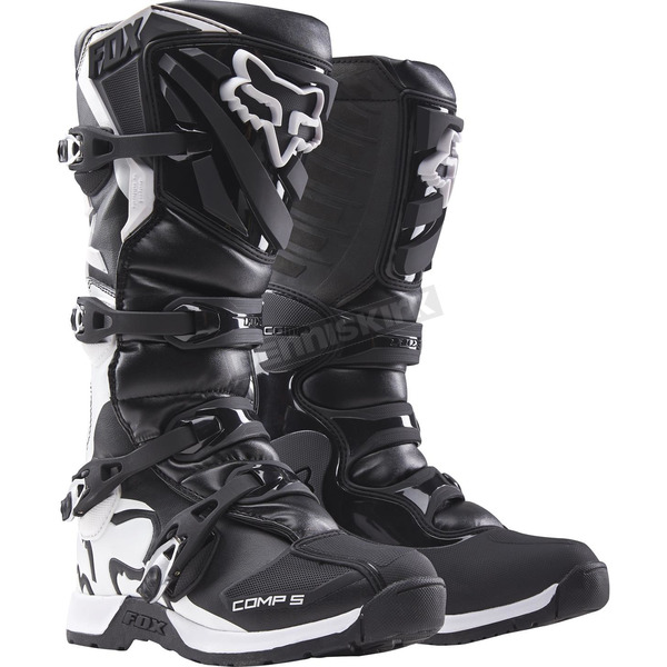 Fox Youth Black Comp 5 Boots - 16449-001-7