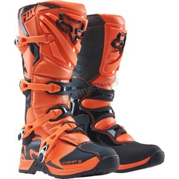 Fox Youth Orange Comp 5 Boots - 16449-009-3