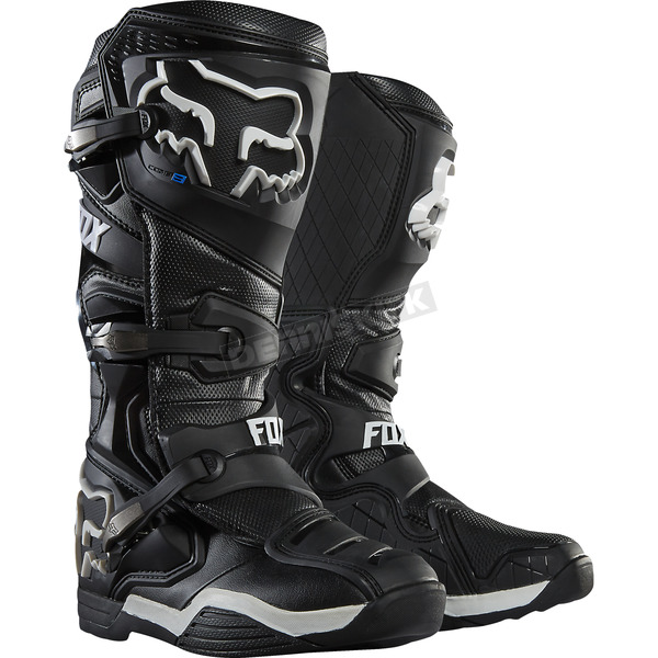 Fox Black Comp 8 Boots - 16451-001-14