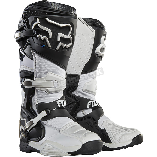 Fox White Comp 8 Boots - 16451-008-12