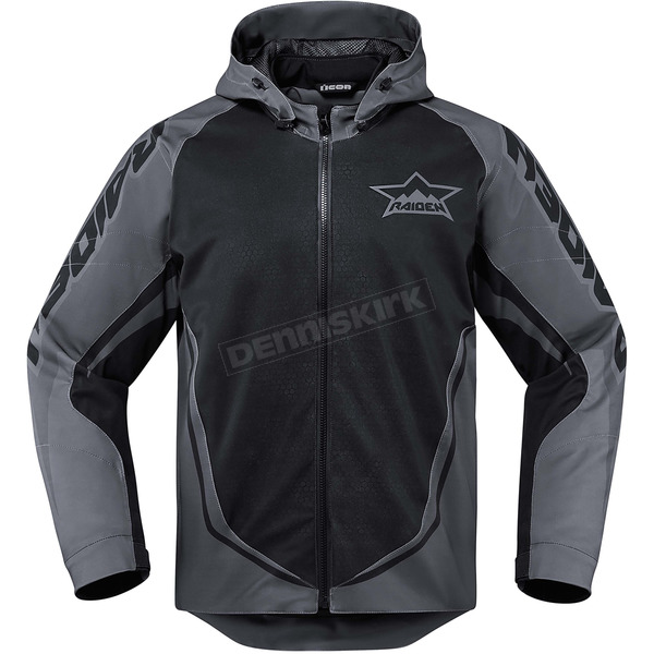 Icon - Raiden Black/Gray UX Jacket - 2820-3559