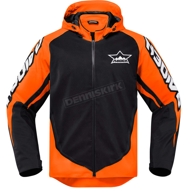 Icon - Raiden Orange/Black UX Jacket - 2820-3567