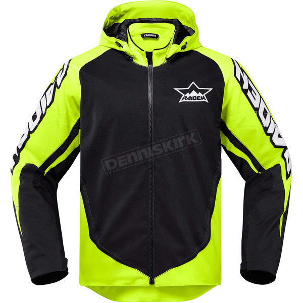 Icon - Raiden Hi-Viz/Black UX Jacket - 2820-3575