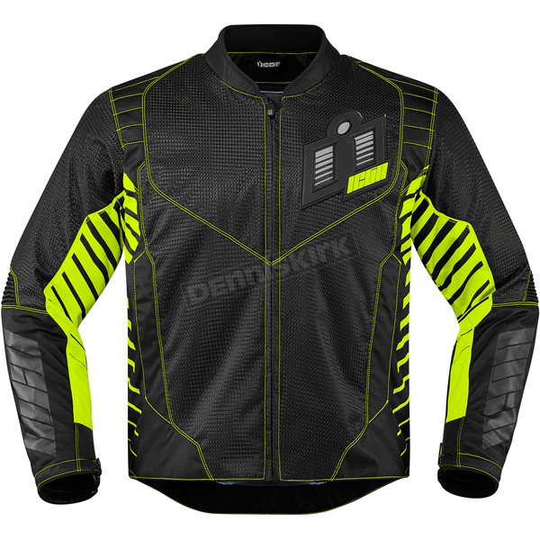 Icon Black/Green Wireform Jacket - 2820-3597