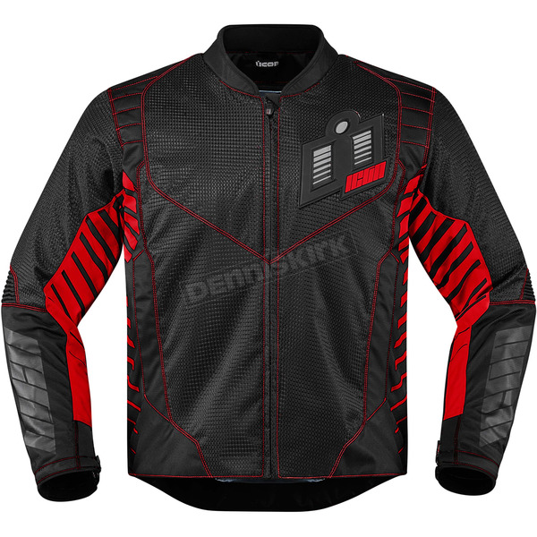 Icon Black/Red Wireform Jacket - 2820-3603