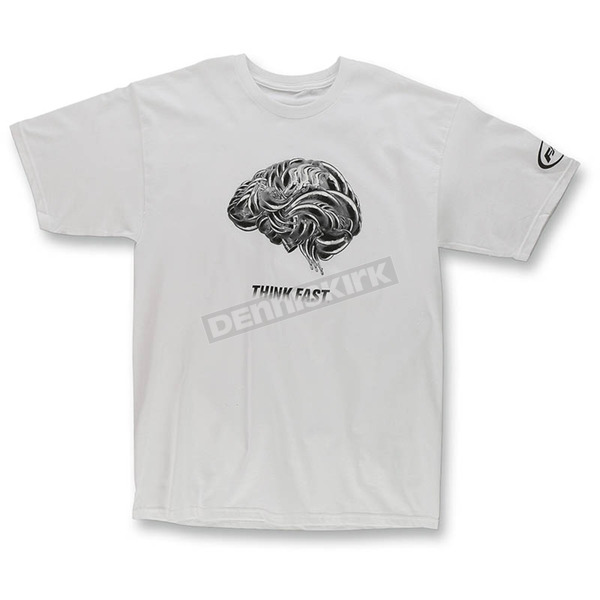 FMF White Think Faster T-Shirt - F351S18124WHTXL