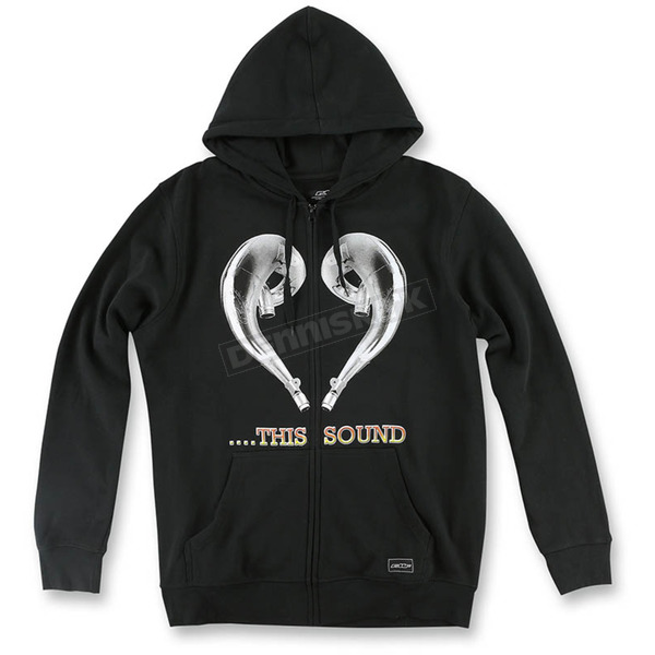 FMF Black Love This Sound Hoody - F351S22101BLK2X