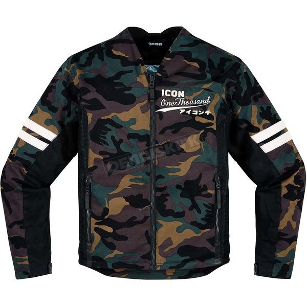 Icon 1000 Oildale Conscript Jacket - 2820-3613