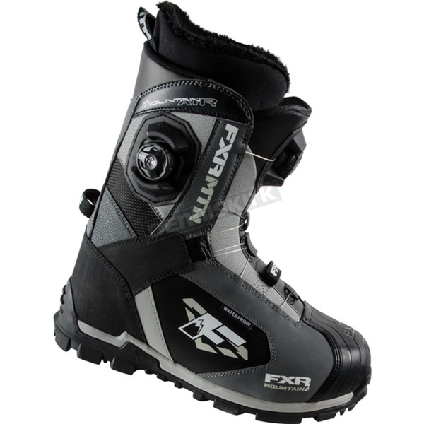 FXR Racing Charcoal/Black Tactic Boa Focus Boots - 15500.10009