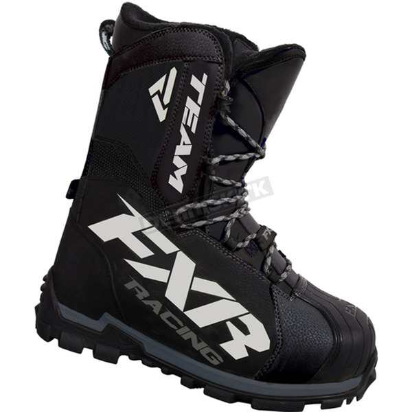 FXR Racing Black Team Core Boots - 16506.10014