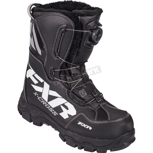 FXR Racing Black X-Cross BOA Boots - 16507.10009