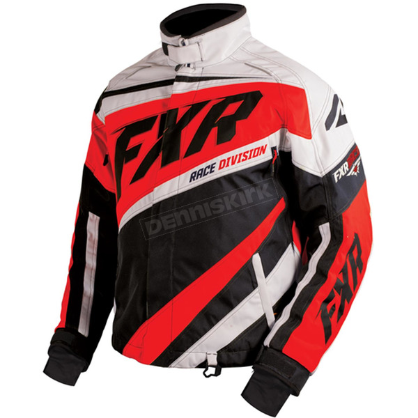 FXR Racing Black/Red/White Cold Cross X Jacket - 16008.51022