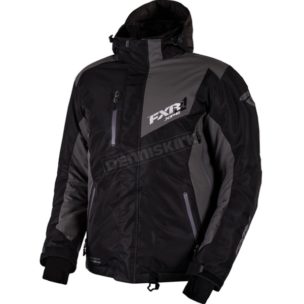 FXR Racing Black/Charcoal Recoil Jacket - 16007.10210