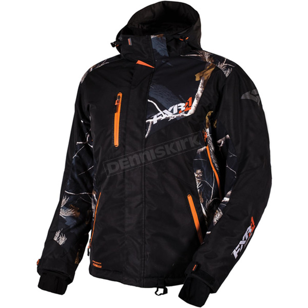 FXR Racing Realtree AP Black/Black Recoil Jacket - 16007.13319