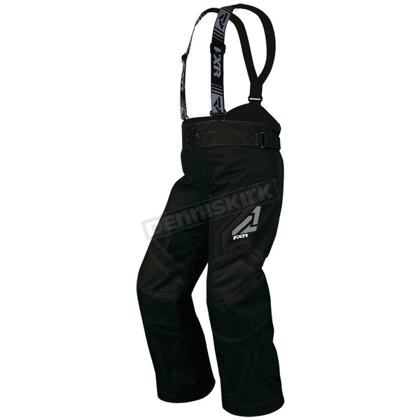 FXR Racing Child's Black Helix Pants - 15311.10004