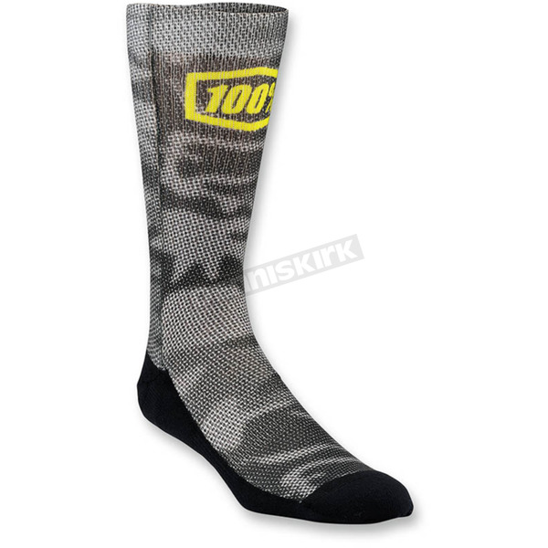 100% Blurred Camo Bionic Socks - 24001-064-17