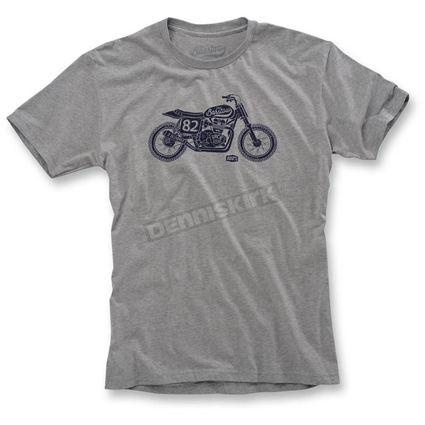 100% Heather Gray Motel T-Shirt - 32034-007-10