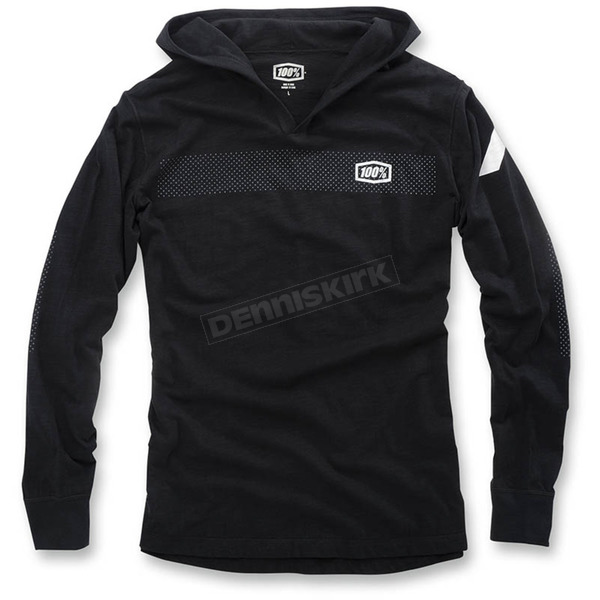 100% Black Gravel Knit Fleece - 36011-001-13