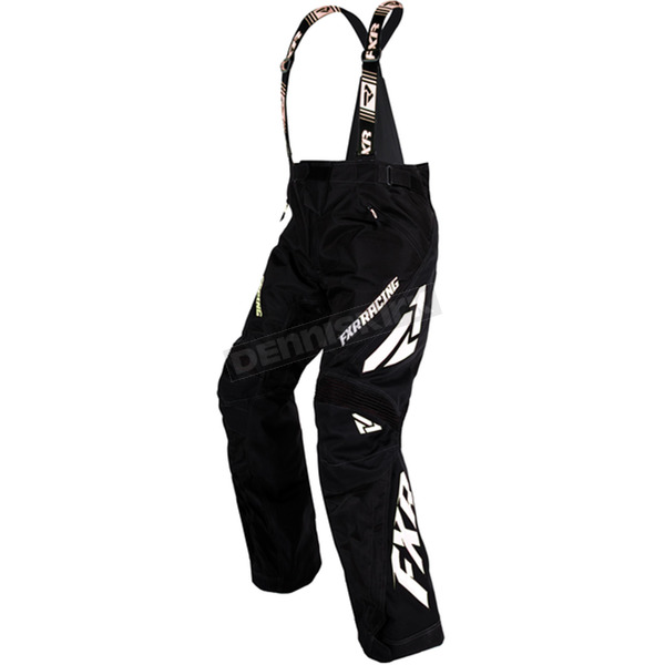 FXR Racing Women's Black/White X-System Pants - 16251.10016