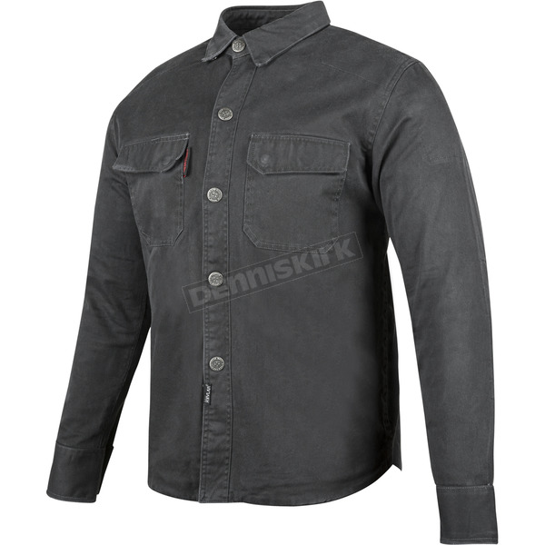 Speed and Strength Black Last Man Standing Armored Moto Shirt - 87-0161