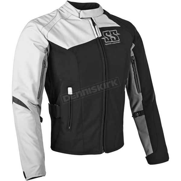 Speed and Strength Womens White Backlash Textile Jacket - 87-0683