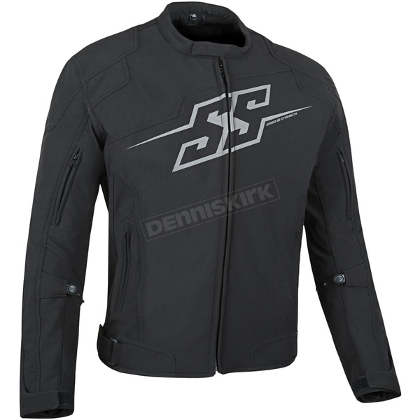 Speed and Strength Black Hammer Down Textile Jacket - 87-0640