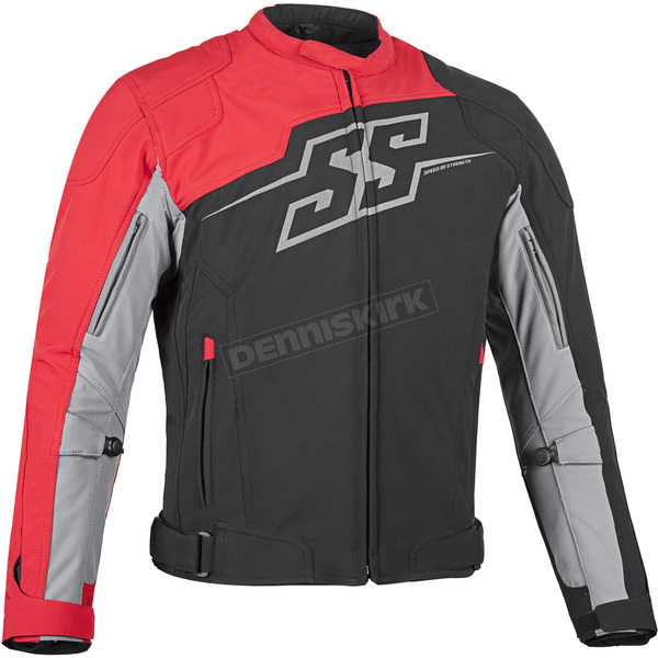 Speed and Strength Red Hammer Down Textile Jacket - 87-0648
