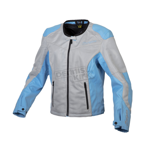 Scorpion Women's Gray/Blue Verano Jacket - 50902-6