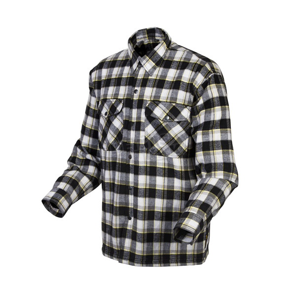 Scorpion Black/Yellow Covert Flannel Shirt - 13103-6