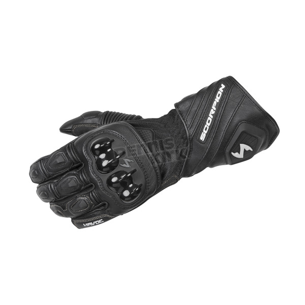 Scorpion Black Havoc Gloves - G27-037