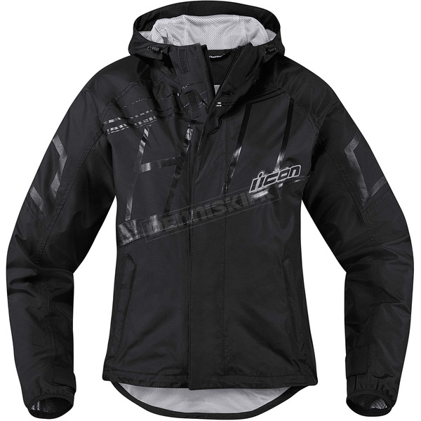 Icon Women's Black PDX 2 Jacket - 2854-0191