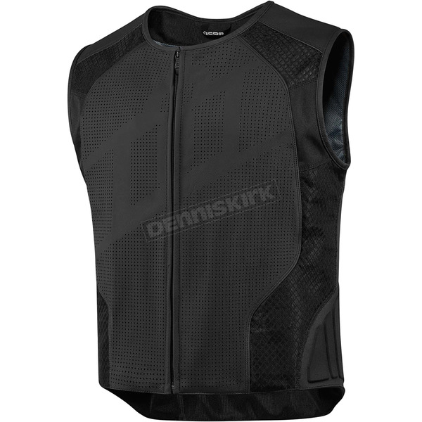Icon Black Hypersport Stripped Vest - 2830-0372