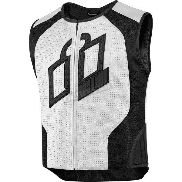 Icon White Hypersport Prime Vest - 2830-0390