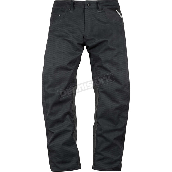 Icon - Raiden Black UX Pants - 2821-0901
