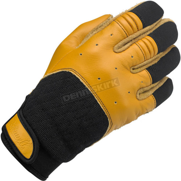 Biltwell Tan/Black Bantam Gloves - GB-SML-TN-BK
