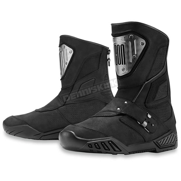 Icon 1000 Black Retrograde Boots - 3403-0844