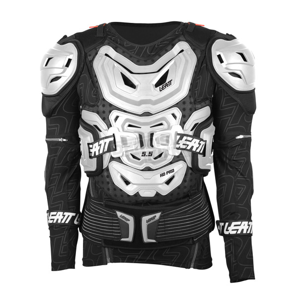 Leatt White 5.5 Body Protector - 5015400111