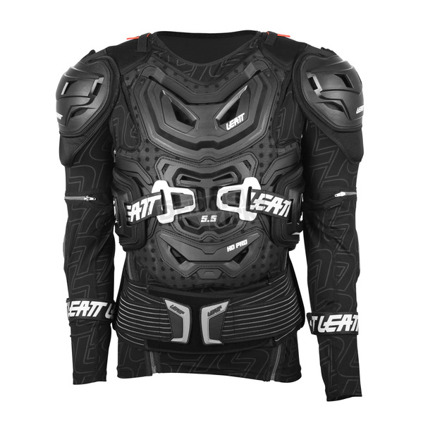Leatt Black 5.5 Body Protector - 5015400101