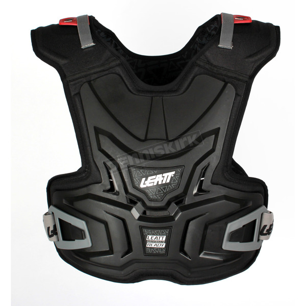 Leatt Youth Black Adventure Chest Protector - 0500030243