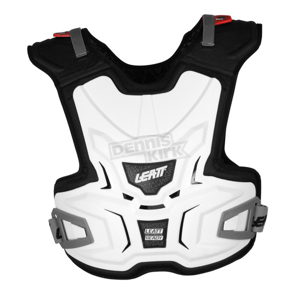 Leatt Youth White Adventure Chest Protector - 0500030244