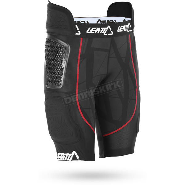 Leatt GPX Black/Red 5.5 Airflex Impact Shorts - 5016000203