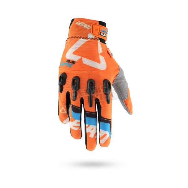 Leatt  Orange 3.5 X-Flow Gloves - 6016000424