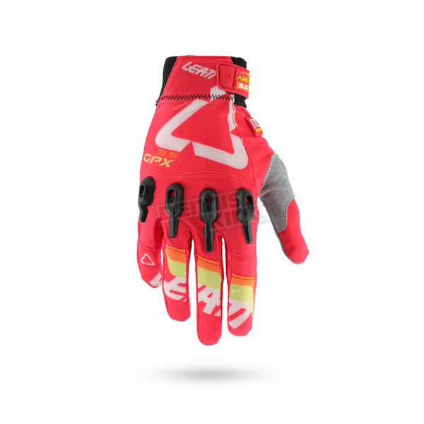 Leatt Red 3.5 X-Flow Gloves - 6016000444