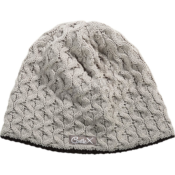 Castle X Gray Missy Fleece Lined Beanie - 98-3155