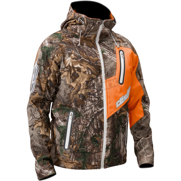 Castle X Realtree AP/Orange Barrier Tri-Lam Jacket - 70-8496