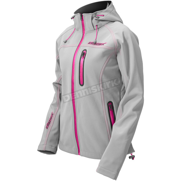 Castle X Women's Magenta Barrier Tri-Lam Jacket - 71-0889