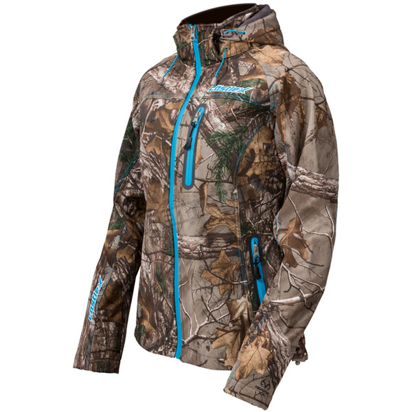 Castle X Women's Realtree AP/Reflex Blue Barrier Tri-Lam Jacket - 71-0899