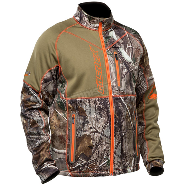 Castle X Realtree AP/Orange Fusion Mid-Layer Jacket - 78-1094
